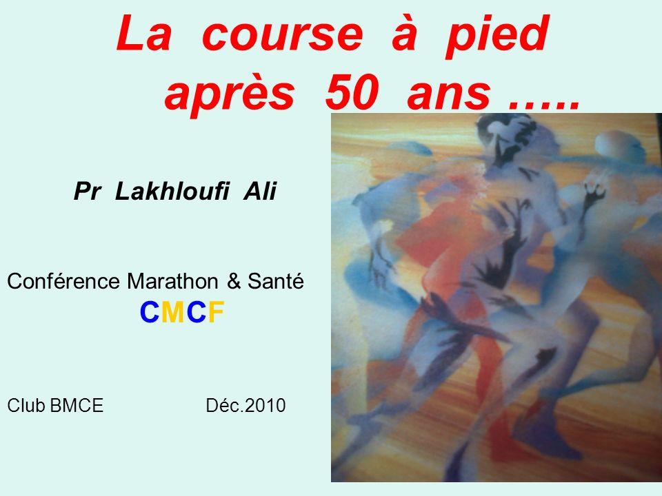 La course à pied après 50 ans …..