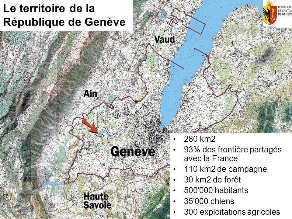 Le territoire de la République de Genève