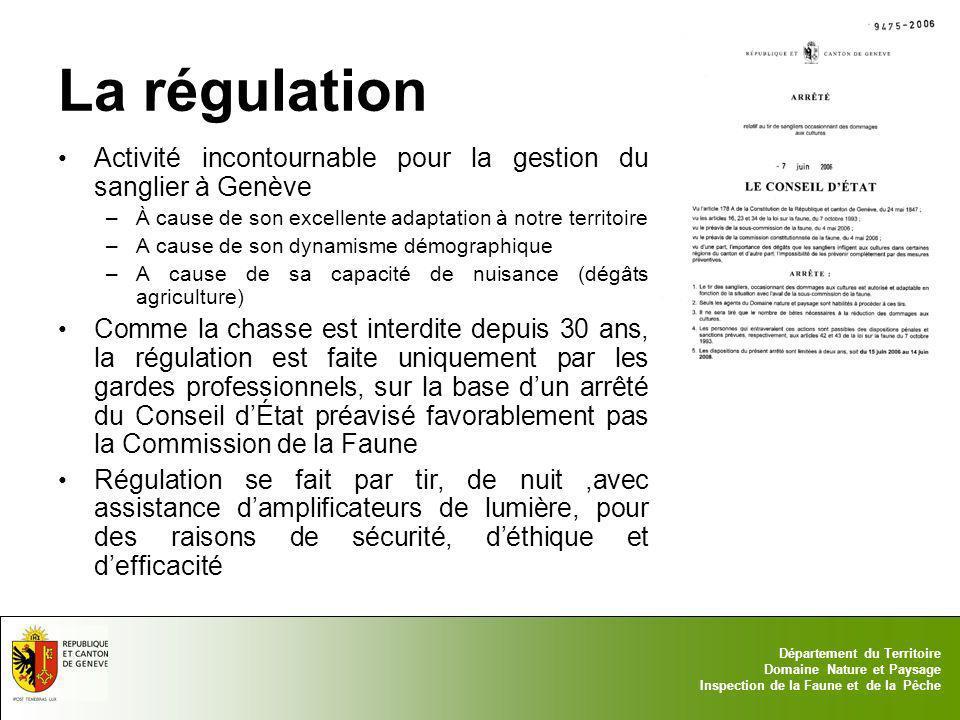 La régulation Activité incontournable pour la gestion du sanglier à Genève. À cause de son excellente adaptation à notre territoire.