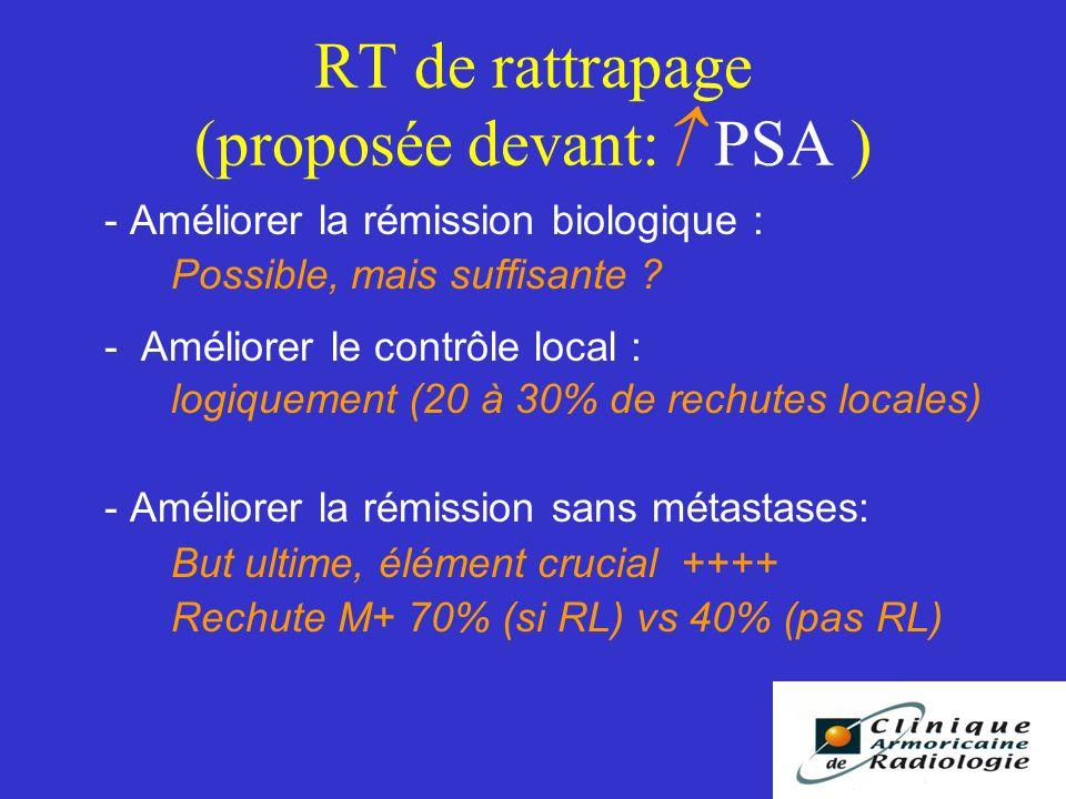 RT de rattrapage (proposée devant: PSA )