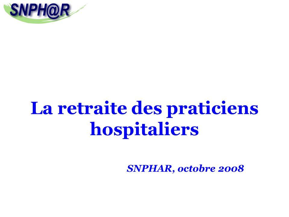 La retraite des praticiens hospitaliers