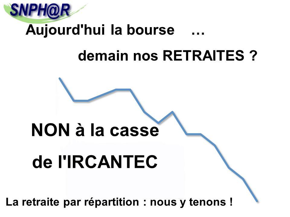 NON à la casse de l IRCANTEC