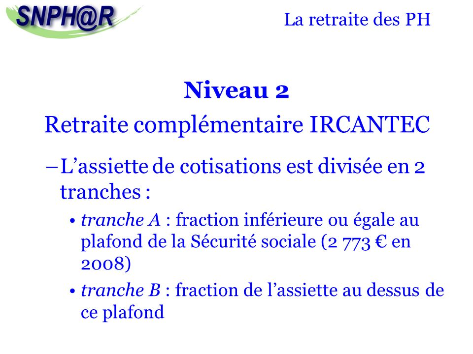 La retraite des praticiens hospitaliers ppt video online - Plafond retraite securite sociale 2013 ...