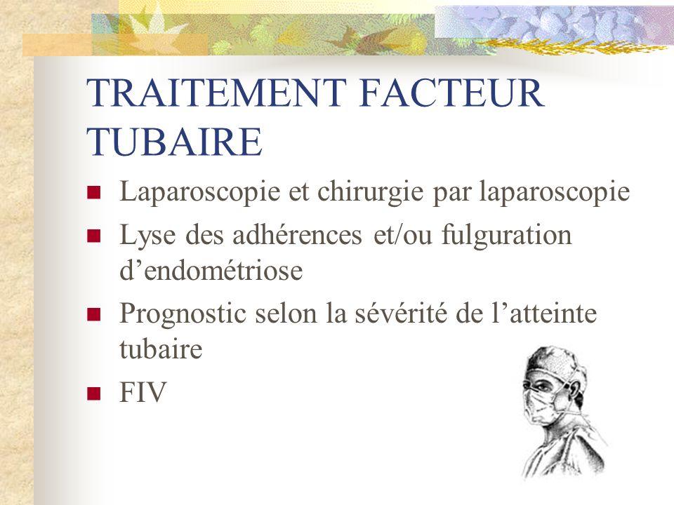 TRAITEMENT FACTEUR TUBAIRE