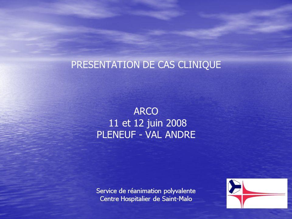 PRESENTATION DE CAS CLINIQUE