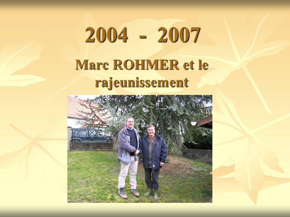 Marc ROHMER et le rajeunissement