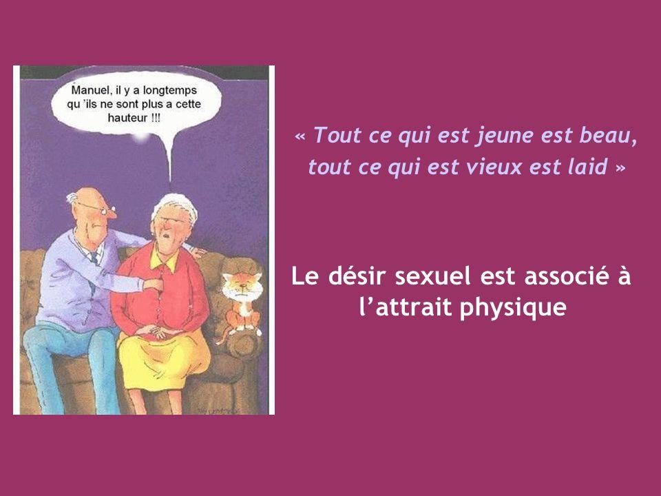 Le désir sexuel est associé à l'attrait physique