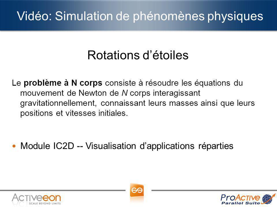 Vidéo: Simulation de phénomènes physiques
