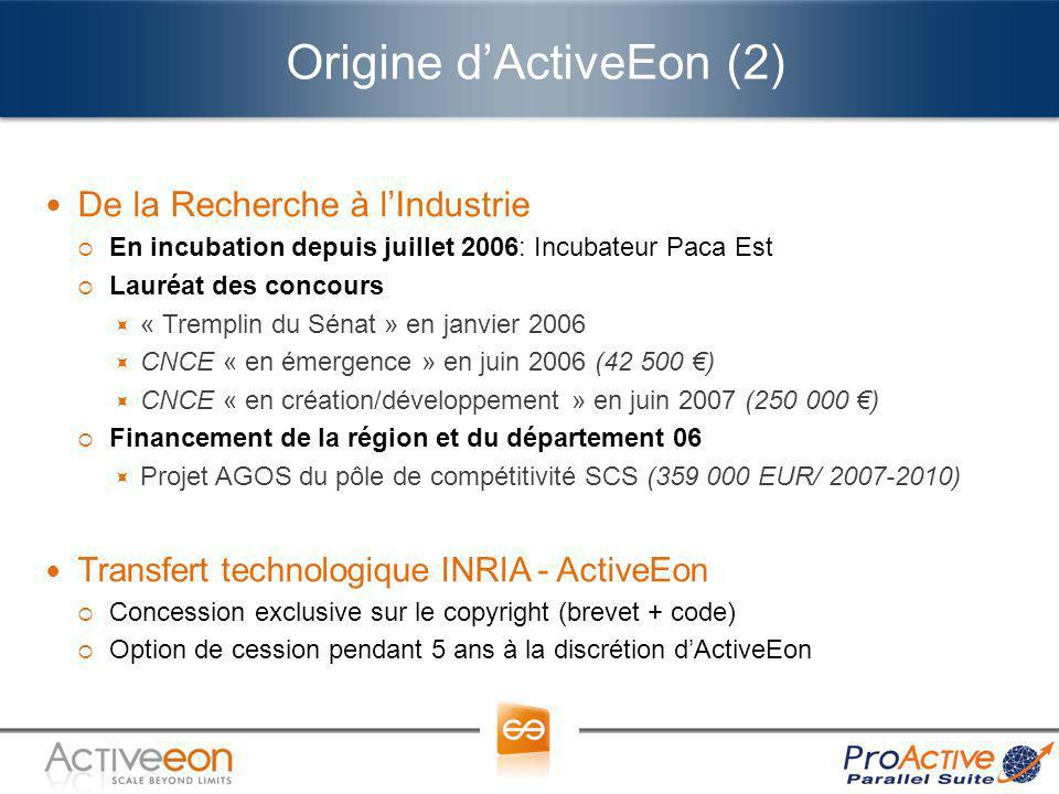 Origine d'ActiveEon (2)