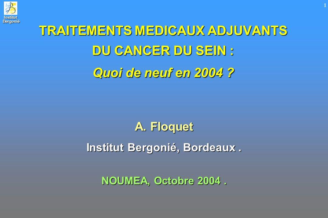 Institut Bergonié, Bordeaux .