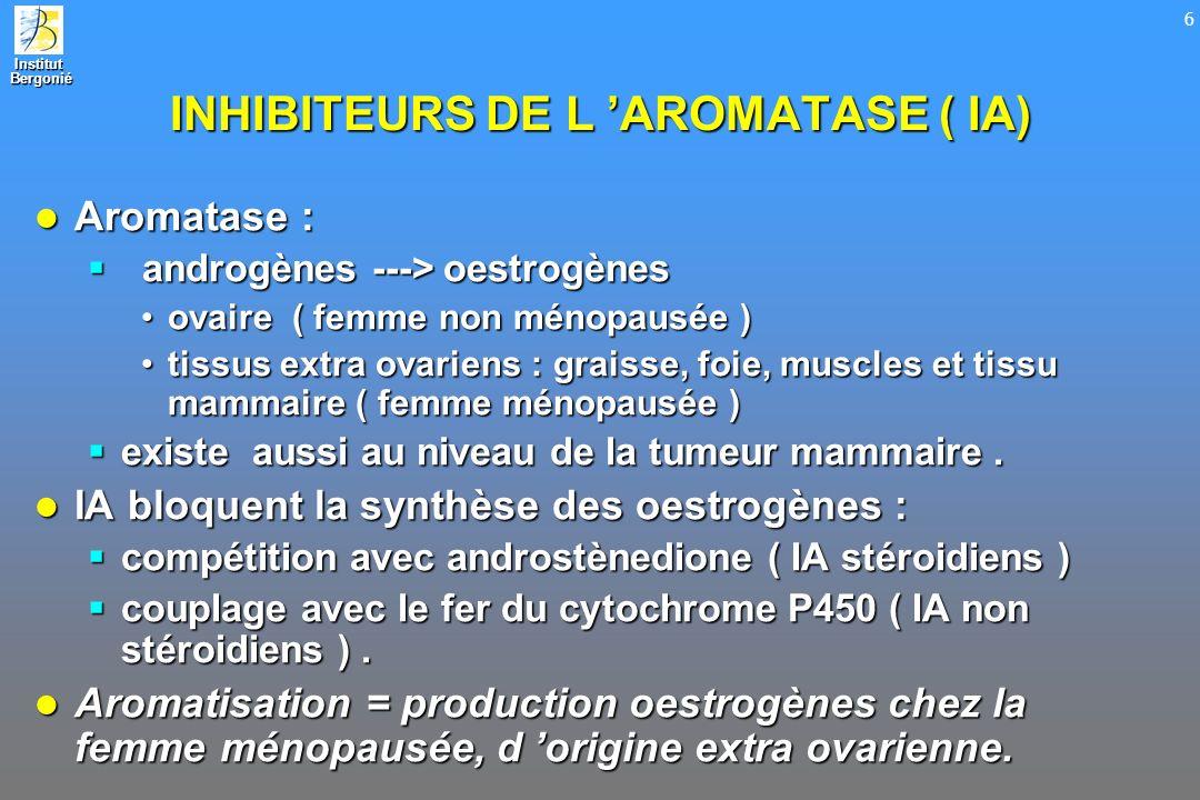 INHIBITEURS DE L 'AROMATASE ( IA)