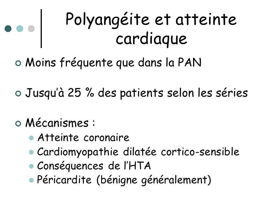 Polyangéite et atteinte cardiaque