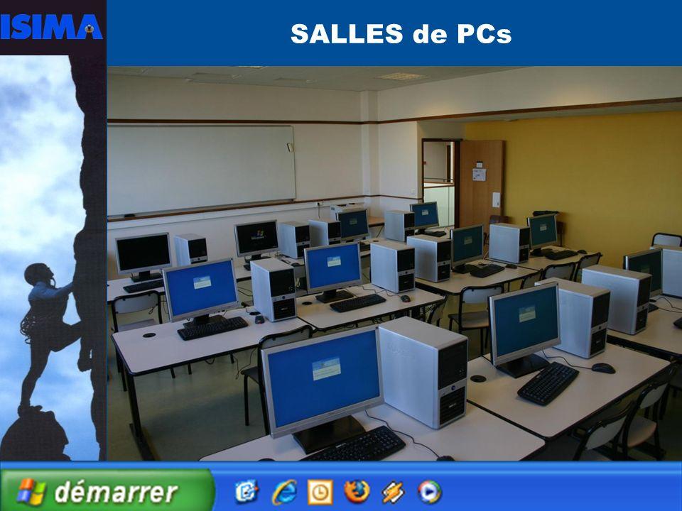 SALLES de PCs