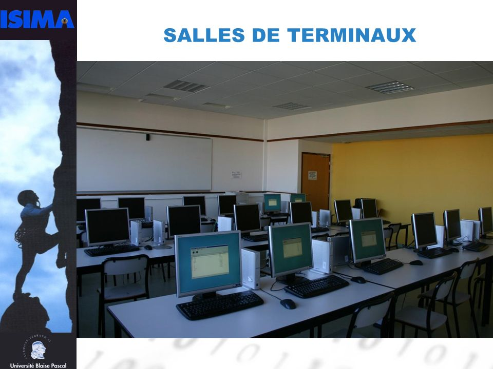SALLES DE TERMINAUX