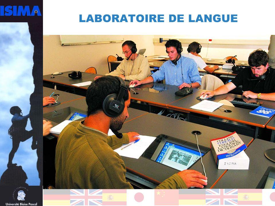 LABORATOIRE DE LANGUE
