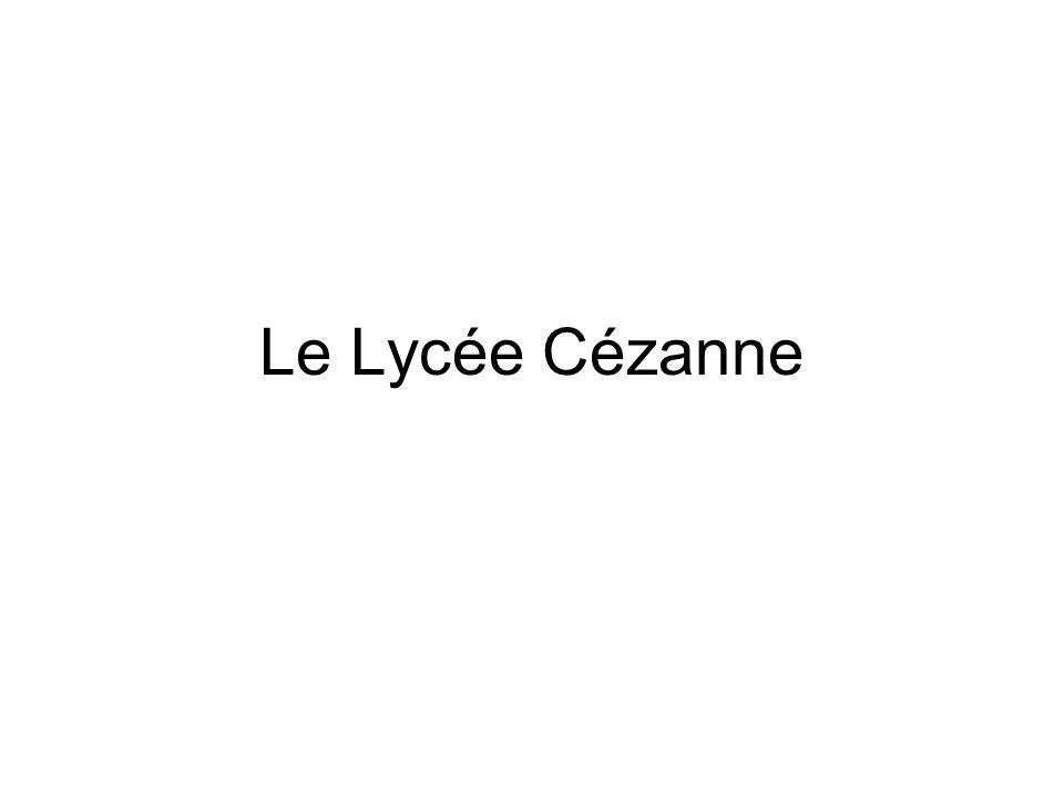Le Lycée Cézanne