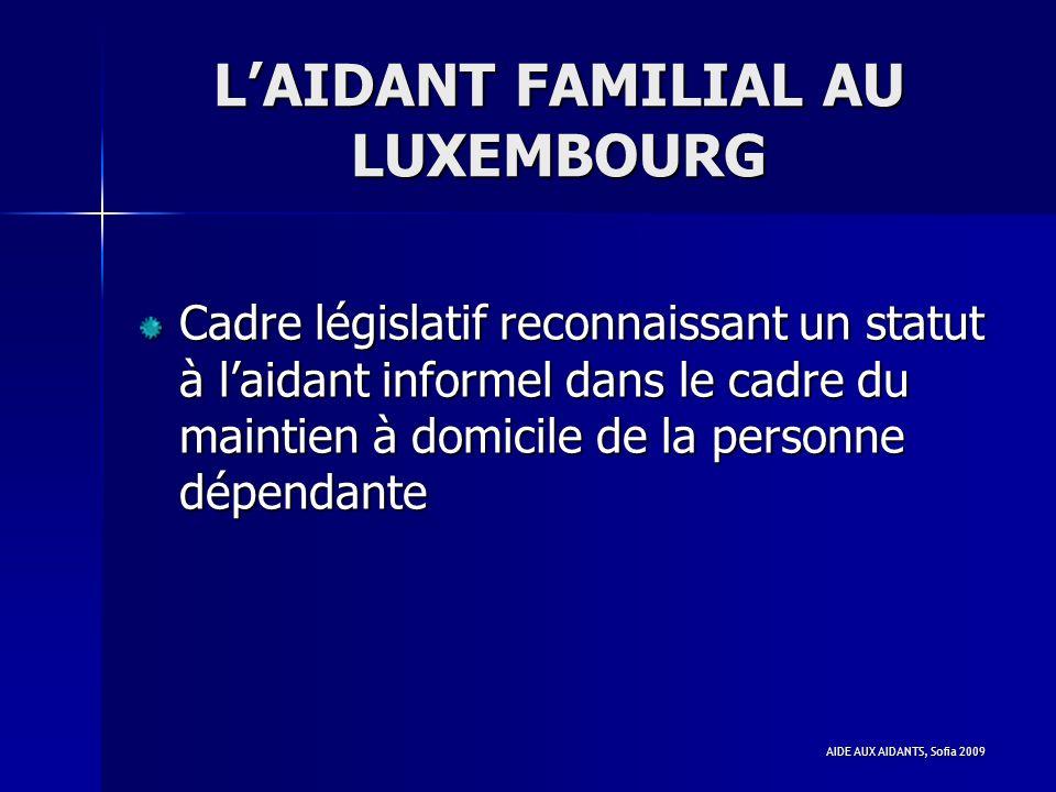 L'AIDANT FAMILIAL AU LUXEMBOURG
