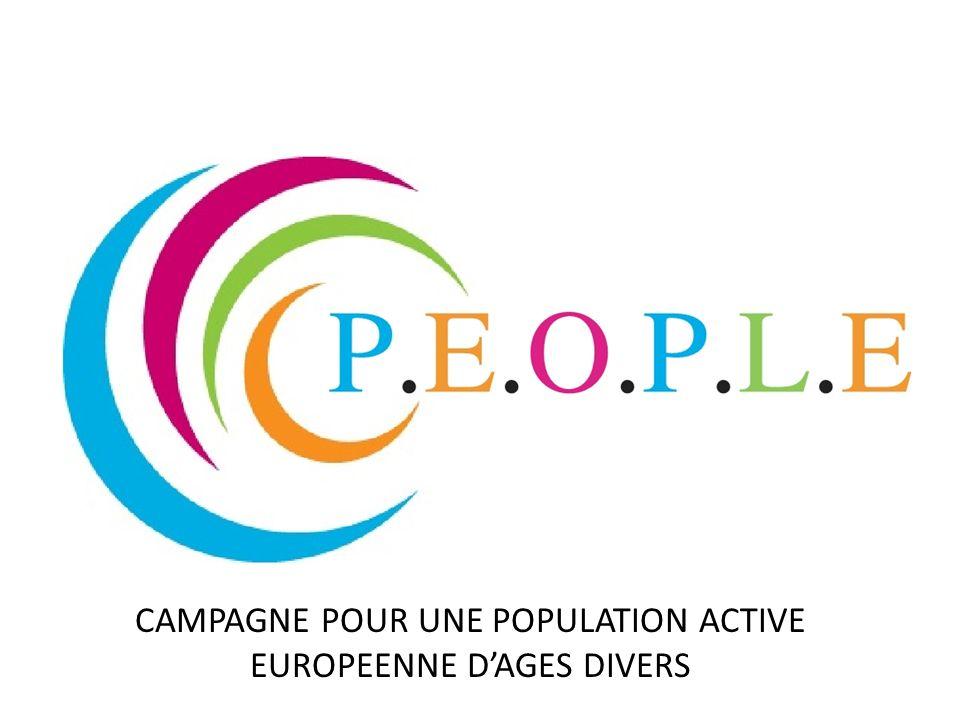 CAMPAGNE POUR UNE POPULATION ACTIVE EUROPEENNE D'AGES DIVERS