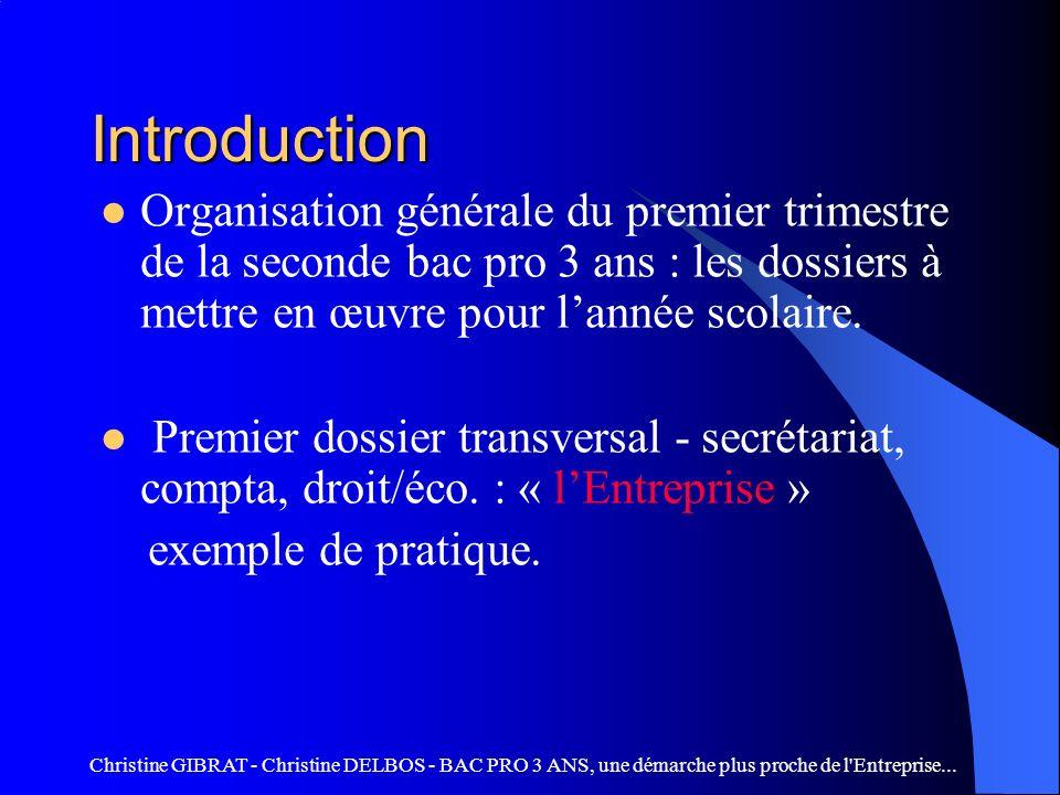 BAC PRO 3 ANS, une démarche plus proche de l entreprise...