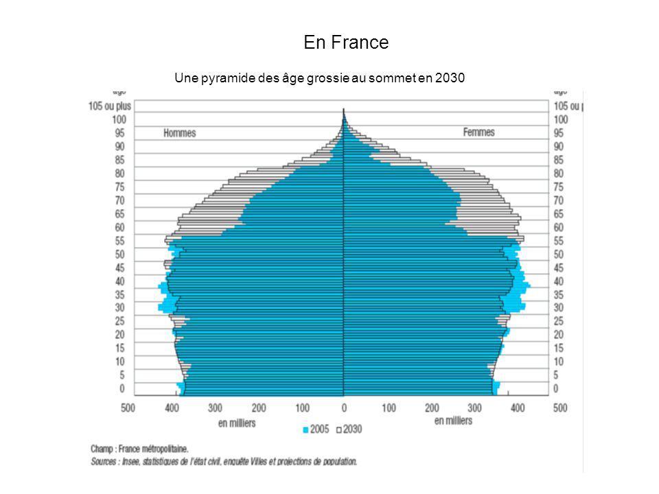 Une pyramide des âge grossie au sommet en 2030