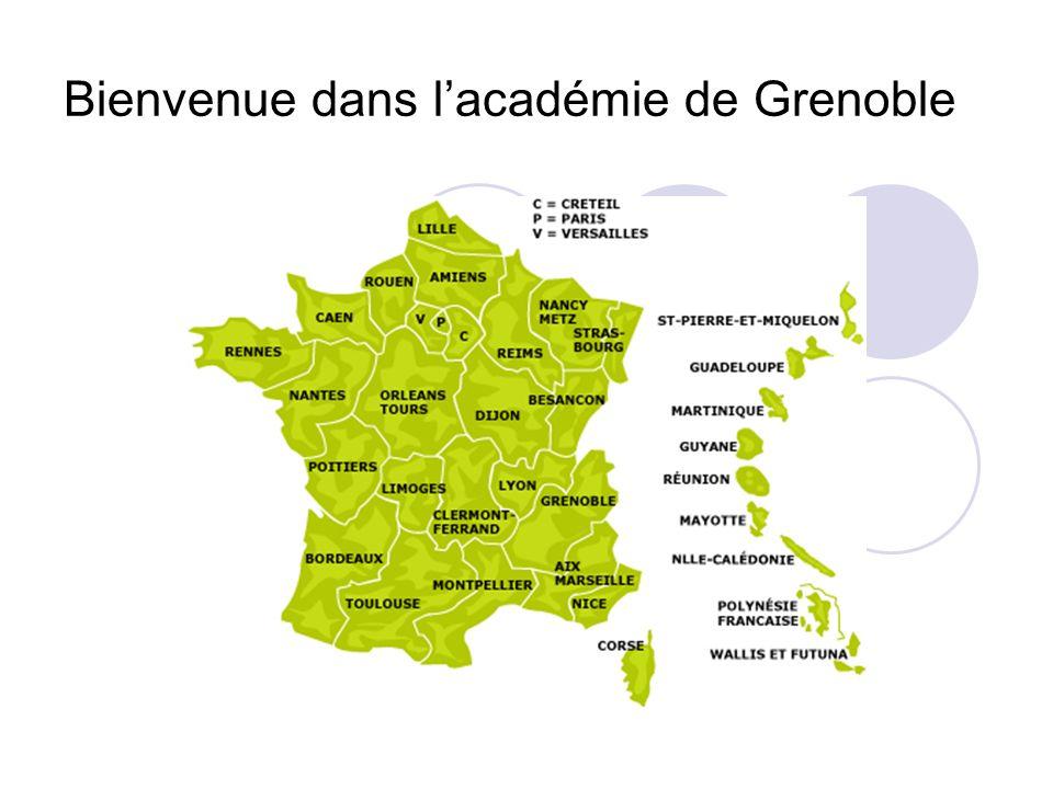 Bienvenue dans l'académie de Grenoble