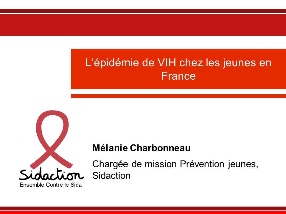 L'épidémie de VIH chez les jeunes en France