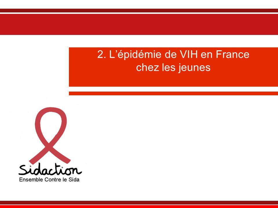 2. L'épidémie de VIH en France chez les jeunes