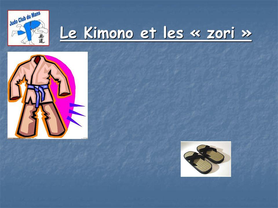 Le Kimono et les « zori »