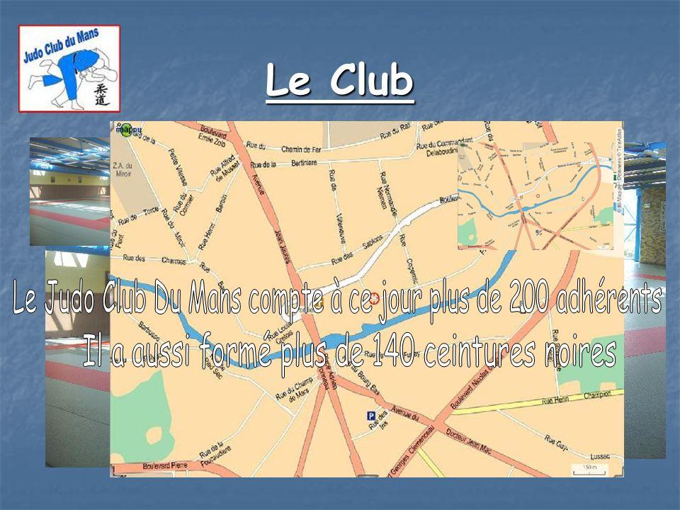 Le Club Le Judo Club Du Mans compte à ce jour plus de 200 adhérents