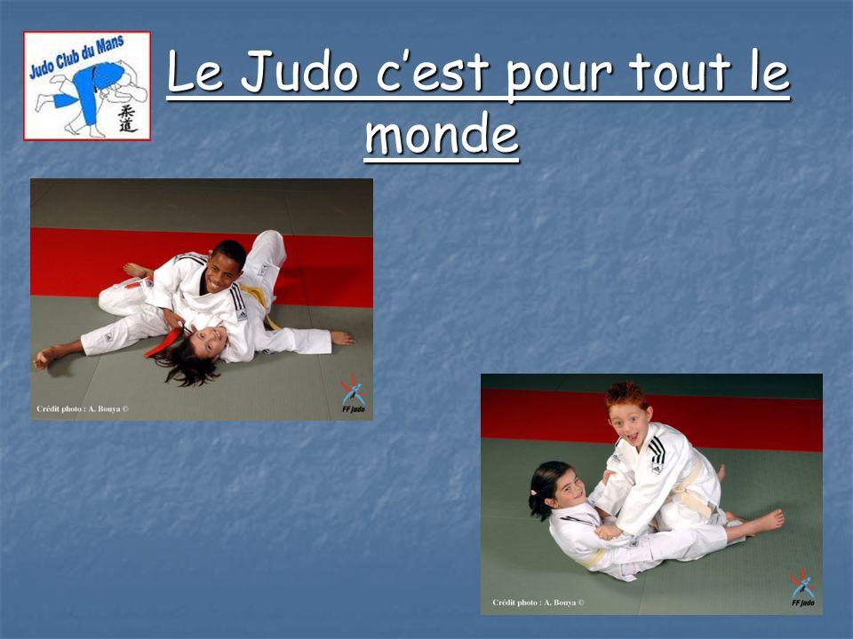 Le Judo c'est pour tout le monde