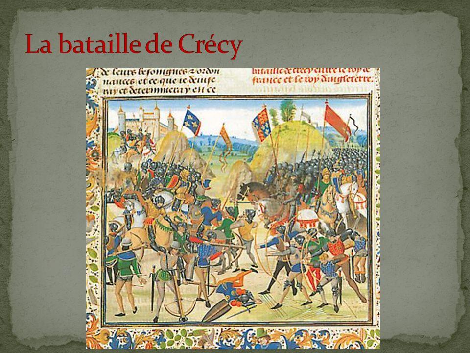 La bataille de Crécy