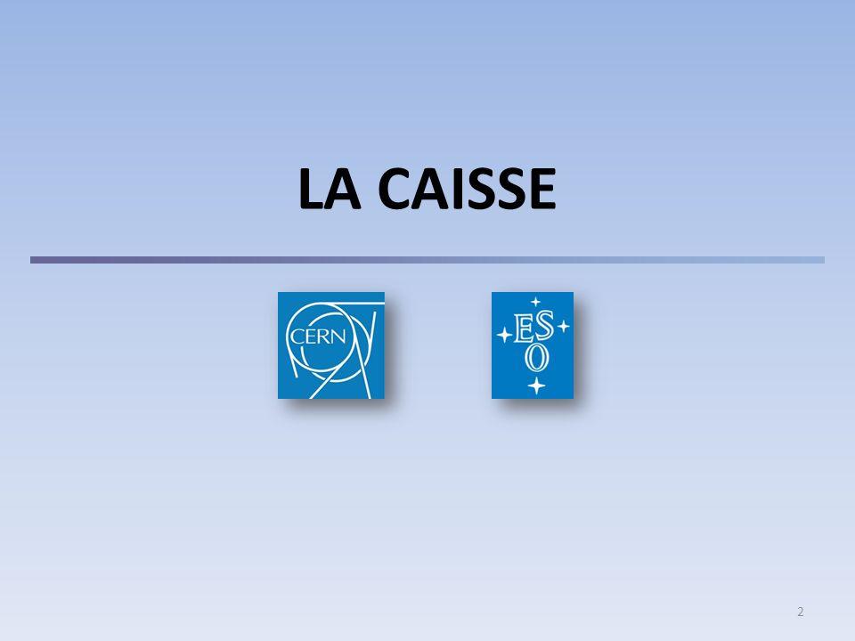 INTRODUCTION Le CERN n'est pas soumis aux droits nationaux