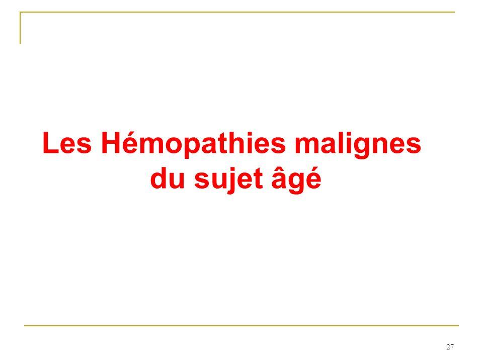 Les Hémopathies malignes