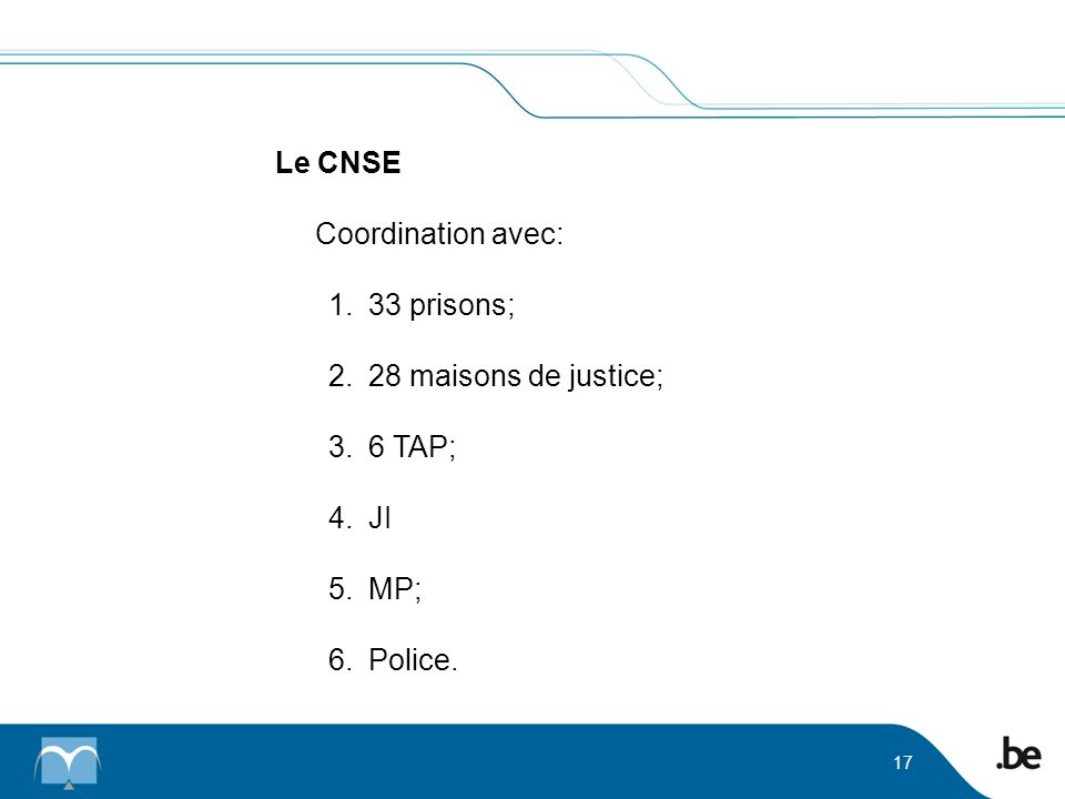 Le CNSE Coordination avec: