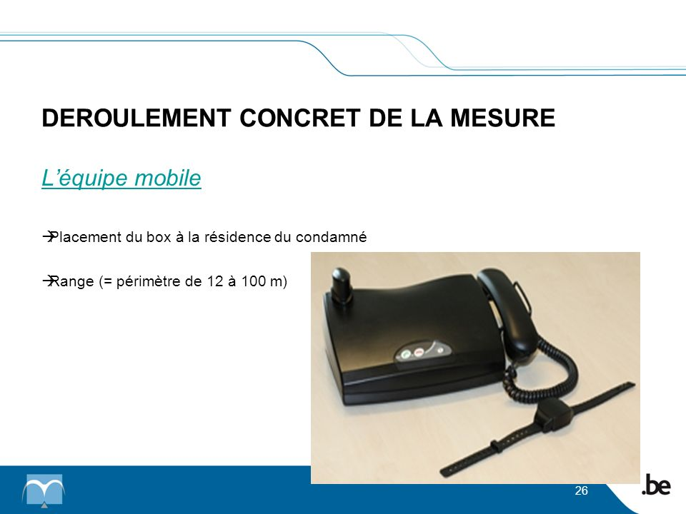 DEROULEMENT CONCRET DE LA MESURE