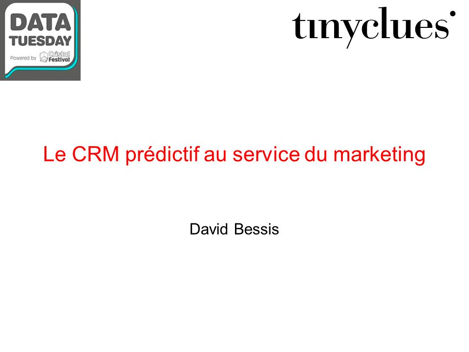 Le CRM prédictif au service du marketing