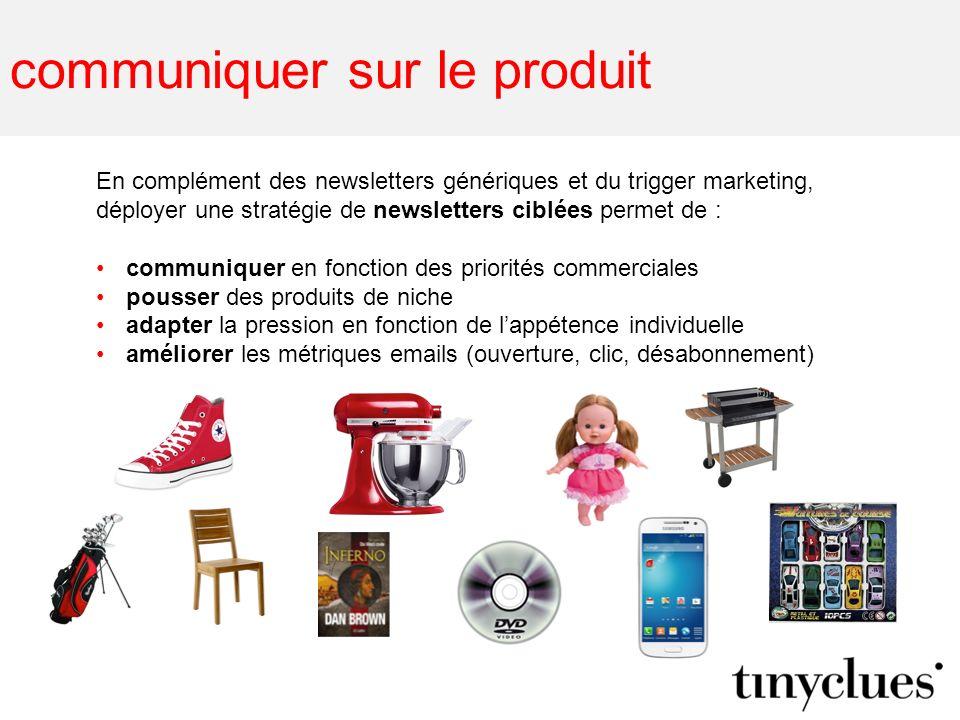 communiquer sur le produit