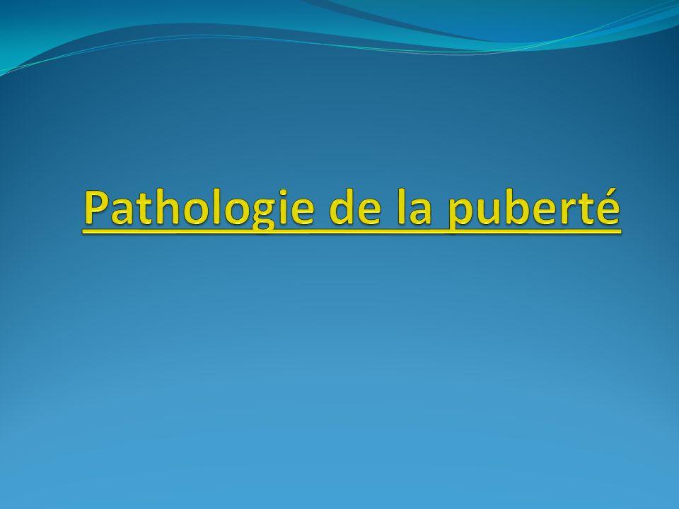 Pathologie de la puberté