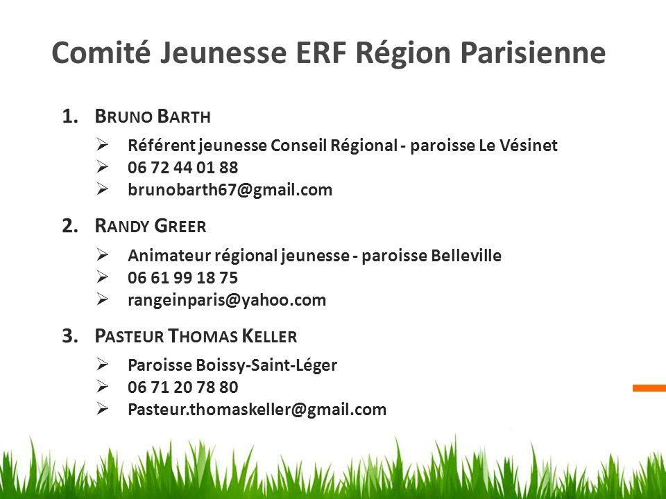 Comité Jeunesse ERF Région Parisienne