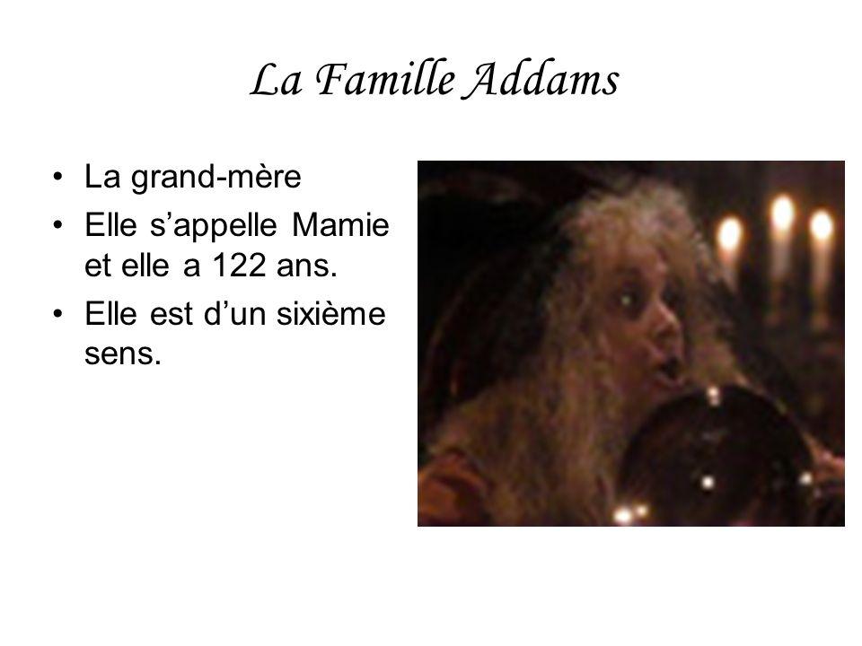 La Famille Addams La grand-mère