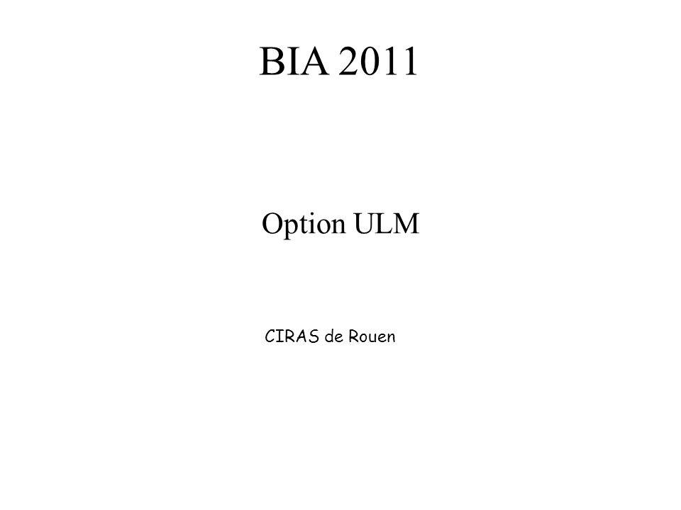 BIA 2011 Option ULM CIRAS de Rouen