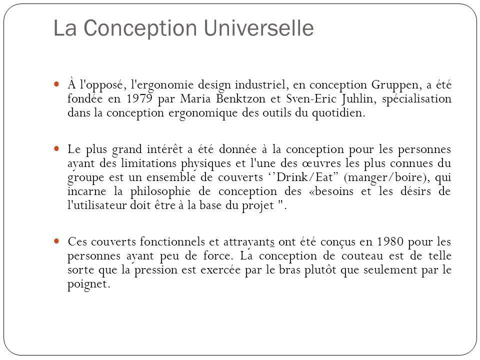 La Conception Universelle