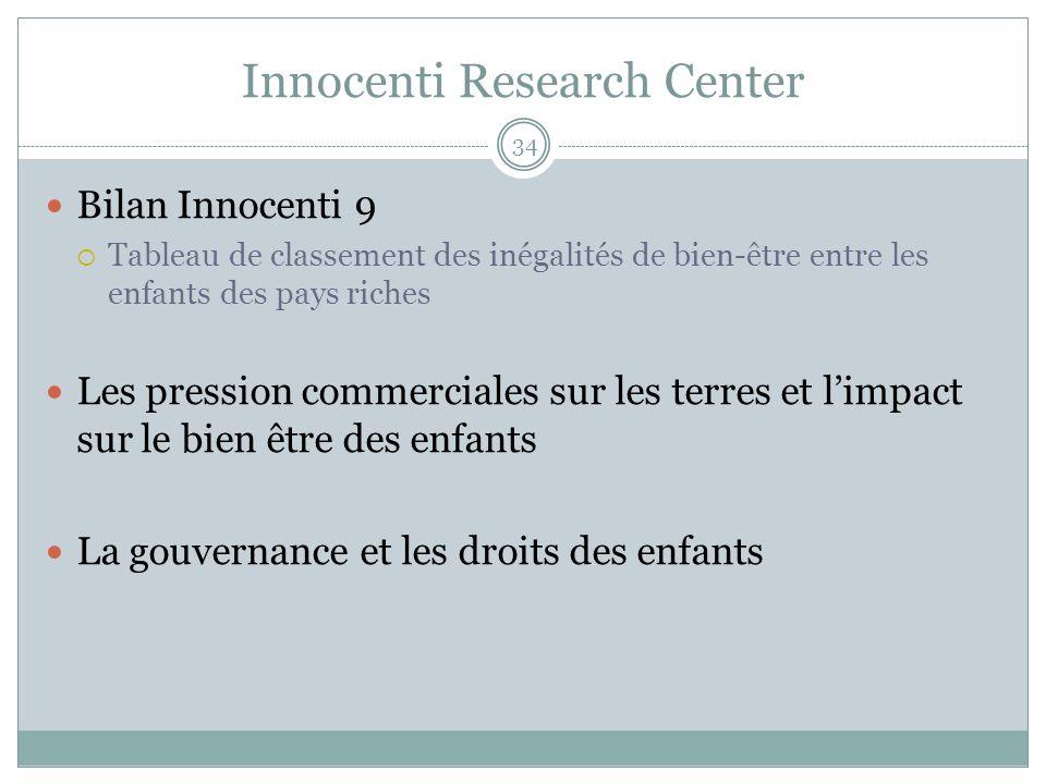 Innocenti Research Center