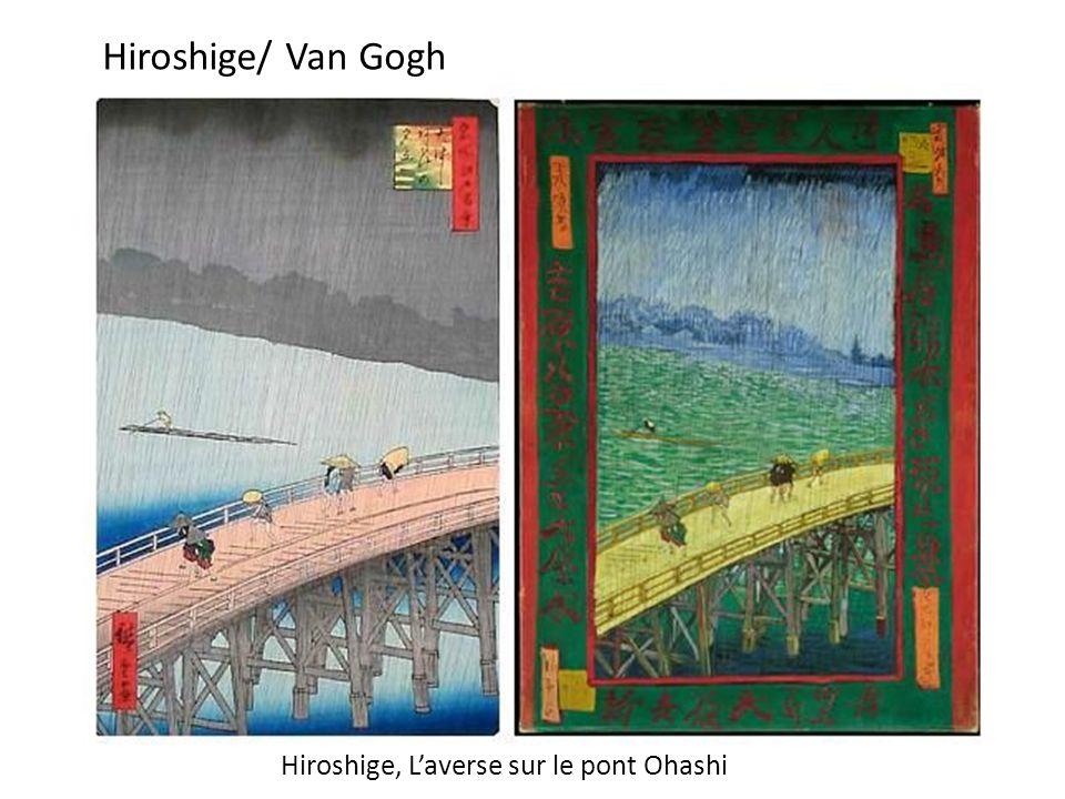 Hiroshige, L'averse sur le pont Ohashi