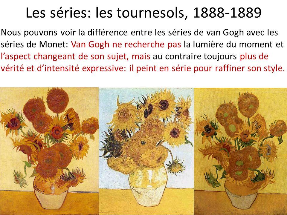 Les séries: les tournesols, 1888-1889