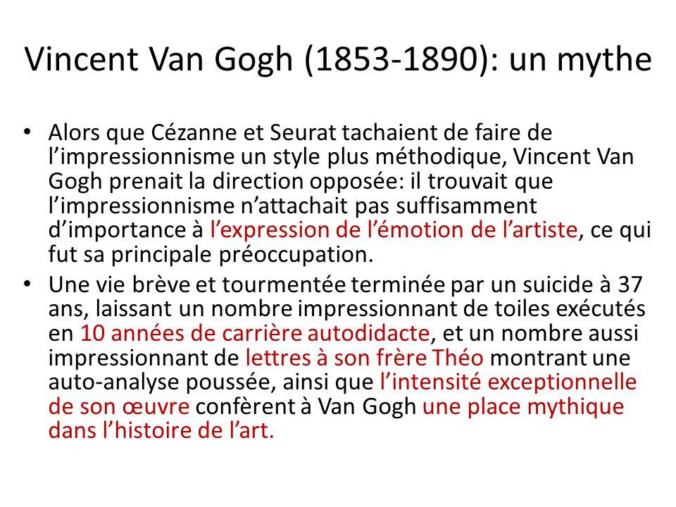 Vincent Van Gogh (1853-1890): un mythe