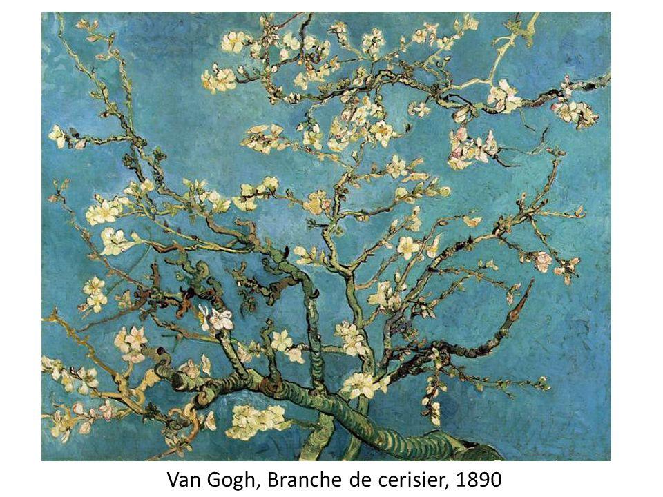 Van Gogh, Branche de cerisier, 1890