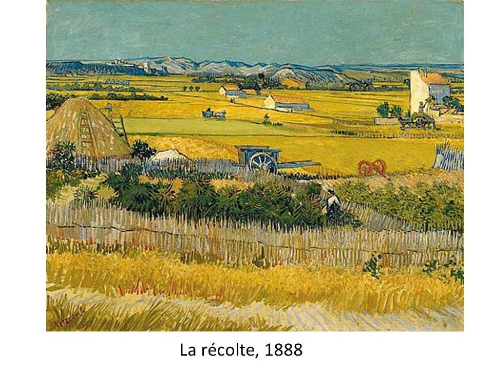 La récolte, 1888