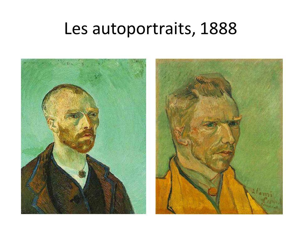 Les autoportraits, 1888