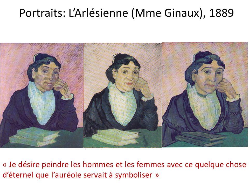 Portraits: L'Arlésienne (Mme Ginaux), 1889